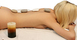 Anti-cellulitis massage with Relax & Tone